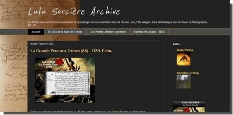 Lulu Sorcière, un blog à découvrir - Le Blog Généalogie - Toute l'actualité de la généalogie - GeneaNet | GenealoNet | Scoop.it