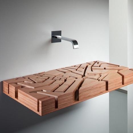 10 moderne wastafel-ontwerpen | retail | Scoop.it