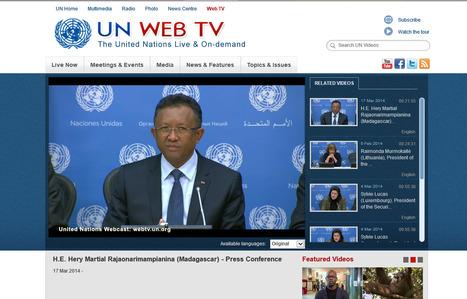 Conférence de Presse du Président Hery Rajaonarimampianina à la tribune de l'UN | Akory! | Scoop.it