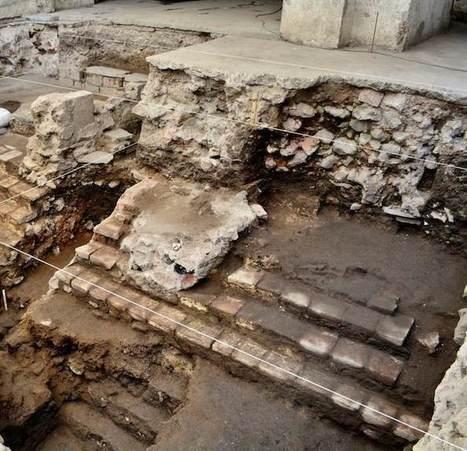 Arqueólogos hallan restos de la principal cancha de Juego de Pelota de Tenochtitlan | ArqueoNet | Scoop.it