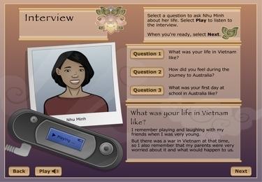 Timeline: Nhu Minh's story | Scootle | Singapore - Vietnam Study Program, September 2013 | Scoop.it