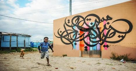 Street art with a message of hope and peace | Arabian Peninsula | Scoop.it