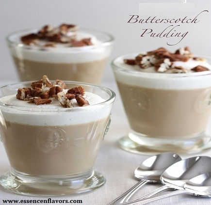 Butterscotch Chocolate Pudding Cups: A Perfect Dessert | food | Scoop.it