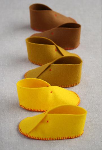 Felt Baby Shoes | Tejidos | Scoop.it