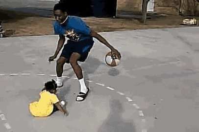 Baby Gets Crossed Up in Streetball | Awesomeness | Scoop.it