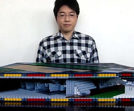 LEGO Pop-up Castle | Heron | Scoop.it