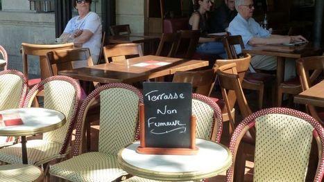 Terrasses anti-tabac, le label ne séduit pas les cafetiers parisiens - Le Figaro | Produits addictifs | Scoop.it