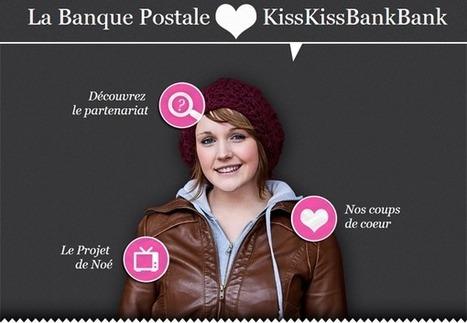 Partenariat KissKissBankBank / La Banque Postale pour la promotion de projets innovants   e-RSE, communication digitale, sociale et environnementale   startup & entrepreneurship   Scoop.it