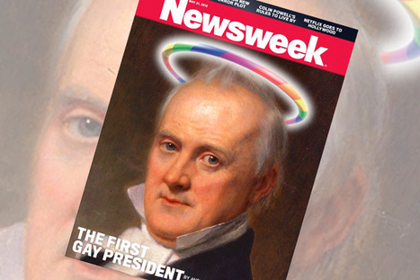 Our real first gay president | Daily Crew | Scoop.it