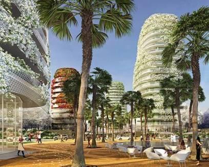 Immeubles verts : une tendance croissante - Explorimmo (Blog)   Résilience climatique des villes   Scoop.it