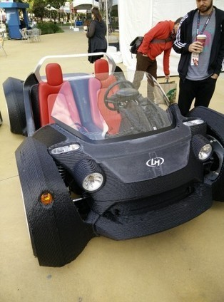 See Local Motors' 3D Printed 'Strati' Car in action | COOL 3DPRINTING | Scoop.it