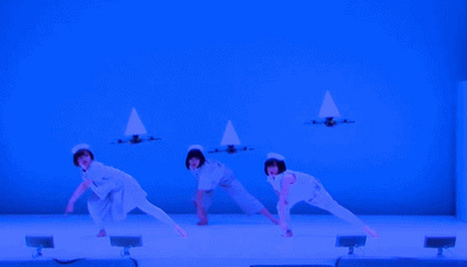 Japanese Dance Company Choreographs Performance With Drones | The Creators Project | Arts numériques | Scoop.it