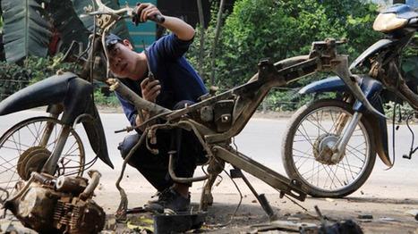 Khám phá 'lò mổ' xe - Nơi đưa huyền thoại thành phế liệu | Tin tức ô tô xe máy | Scoop.it
