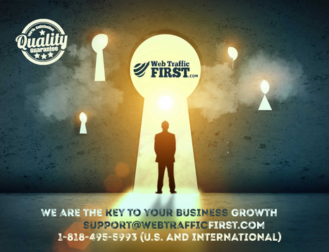We can be the key to your business growth. | Web Traffic First | Scoop.it