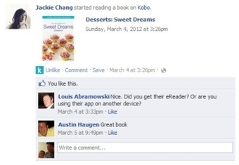 "Facebook Boosts Kobo's Traffic, Registrations | The ""New Facebook"" 