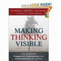 Making Thinking Visible by Ron Ritchhart: Free Download PDF Ebook | Transformational learning | Scoop.it