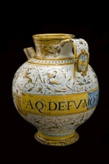 Storage jar used for Fumitory Water, Italy, 1640-1660 | bain de Marie: Women and the roots of botanical chemistry | Scoop.it