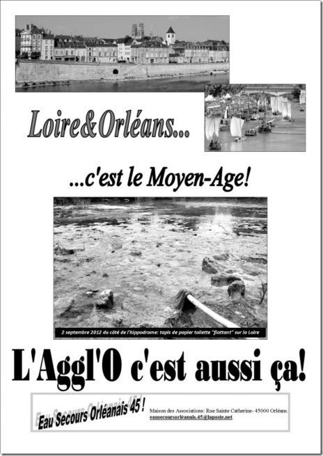 Orléans : le scandale de la pollution de la Loire par le rejet direct des eaux usées | Toxique, soyons vigilant ! | Scoop.it