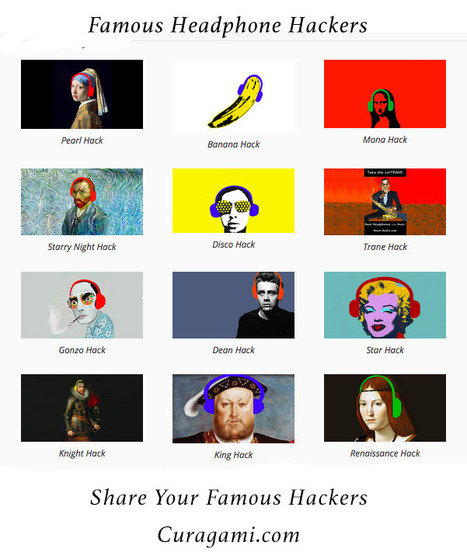 Famous Headphones Hackers - Contribute Yours! | Design Revolution | Scoop.it