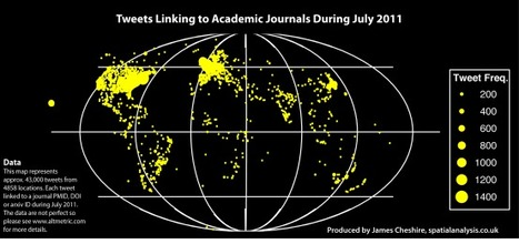 Mapping Academic Tweets | Dual impact of research; towards the impactelligent university | Scoop.it