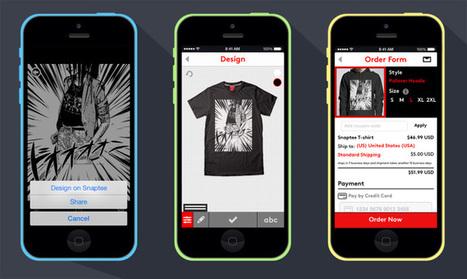 Custom T-Shirt Design App Snaptee Launches Partnership Program   Cloud Marketing Daily   Scoop.it