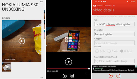 How to create and share story videos with Nokia Storyteller | Pocketpt.net | Scoop.it