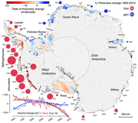 Shrinking of Antarctic ice shelves is accelerating | Oceans and Wildlife | Scoop.it