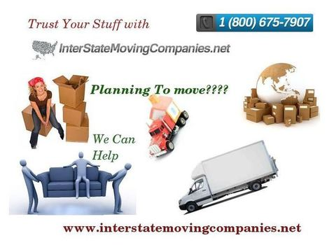 Services Offered By Moving Companies   Choose A Trusted Interstate Movers   Scoop.it