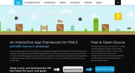 8 Useful HTML5 Frameworks For Developers To Speed-Up Their Development Process | BestDesignTuts | Web Design | Scoop.it
