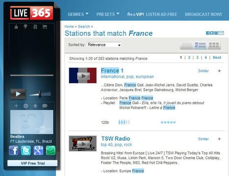 Live365 Internet Radio Network   Webradios et podcasts   Scoop.it