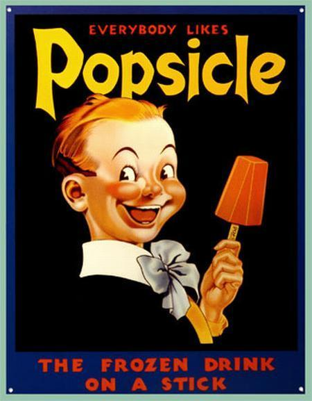 The Cold, Hard Truth About Popsicles By Ben Marks | A Cultural History of Advertising | Scoop.it