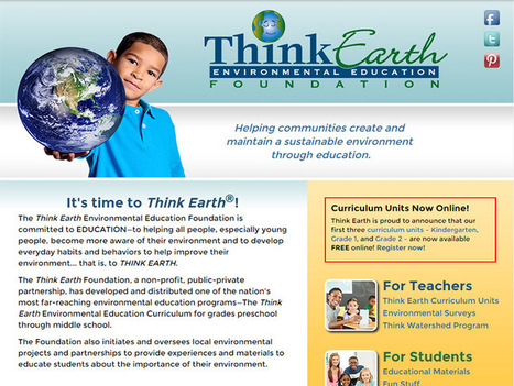 Free K-2 Earth Environmental Education Curriculum Available | idevices for special needs | Scoop.it