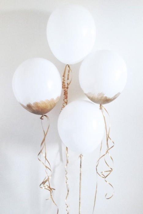 4 Ways To Reinvent The Party Balloon | Eye Spy DIY | Scoop.it