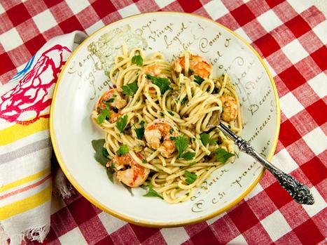 Garlicky Shrimp Scampi Pasta | The greatness of Italian Food | Scoop.it
