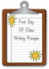 First Day Of School Writing Prompts | Journaling Helps! | Scoop.it