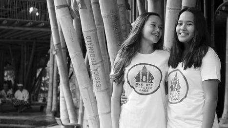 Bali : deux jeunes filles déclarent la guerre au plastique — et sont en passe de la gagner   Planete DDurable   Scoop.it
