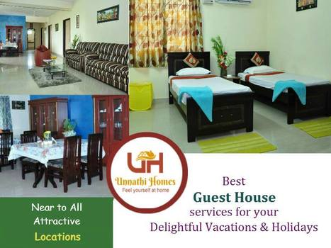 Best Guest Houses services for Ramoji film city visitors | Guest House in Hyderabad | Scoop.it
