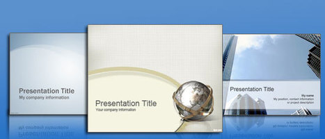 DOWNLOAD POWERPOINT TEMPLATES WITH ADVANCED FEATURES! | Free Power Point Templates | Scoop.it