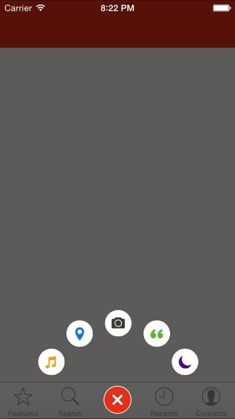 DCPathButton for iOS - Cocoa Controls   iOS development - Objective C - Coding   Scoop.it