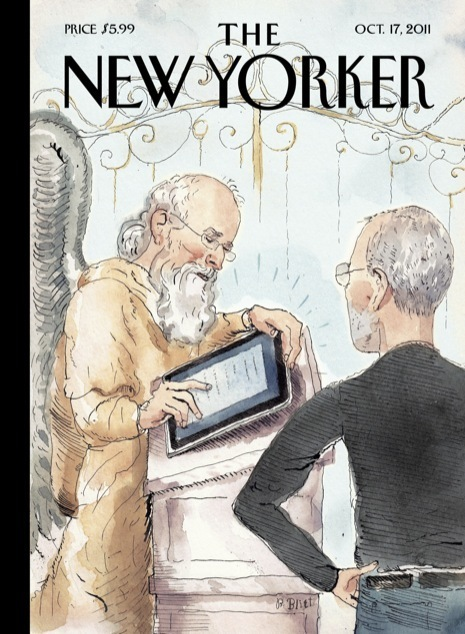 News Desk: Cover Story: Steve Jobs at the Pearly Gates | Entrepreneurship, Innovation | Scoop.it