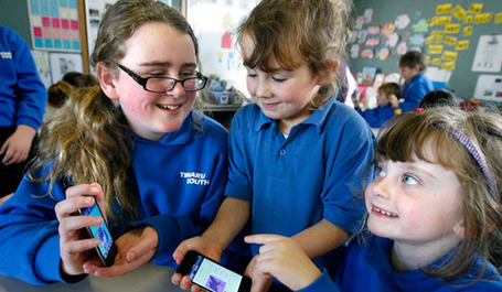 iPods in classroom inspiring young minds