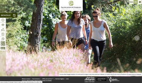 Nouveau site web : Carladez Tourisme en Aveyron | Revue de Web par ClC | Scoop.it