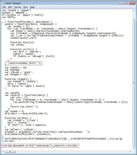 Analyzing a New Exploit Pack   Kahu Security   Frishit Security   Scoop.it
