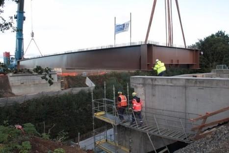 Flers [Vidéo] Une opération spectaculaire sur le chantier de la rocade de Flers | Le Mag ornais.fr | Scoop.it