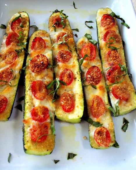 Fresh Zucchini Bruschetta…Molto delizioso! | Food | Scoop.it