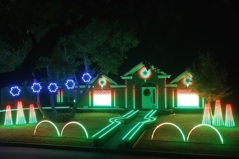 Texas Coast Amazing Christmas Light Show | Texas Coast Real Estate | Scoop.it