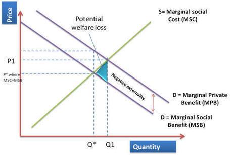 Economics – IA (Negative Externalities of Consumption) - Jiyeon's ... | Market Failure - Economics | Scoop.it