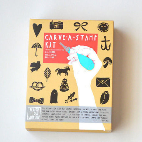 Carve-A-Stamp Kit   Creatives to watch   Scoop.it