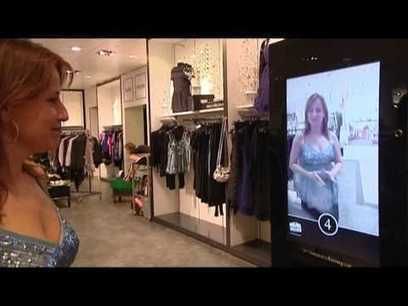 Miroirs interactifs et digital retail   ecommerce Crosscanal, Omnicanal, Hybride etc.   Scoop.it
