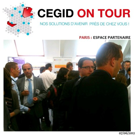 Tournée 2012 : Cegid on Tour | cegid - Cegid On Tour bilan d'une tournée de 10 dates | Scoop.it